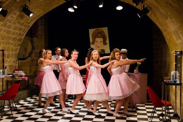 Blah-Blah Hair Compagnie Arthéâct Adaptation et mise en scene : Isabelle de Gaulejac Représentation du dimanche 19 juin 2016 à l'Essaïon Théâtre